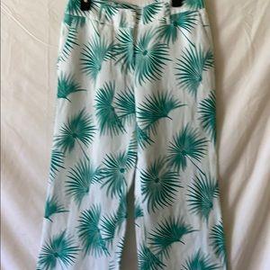 NWT palm print Tommy Bahama linen pants